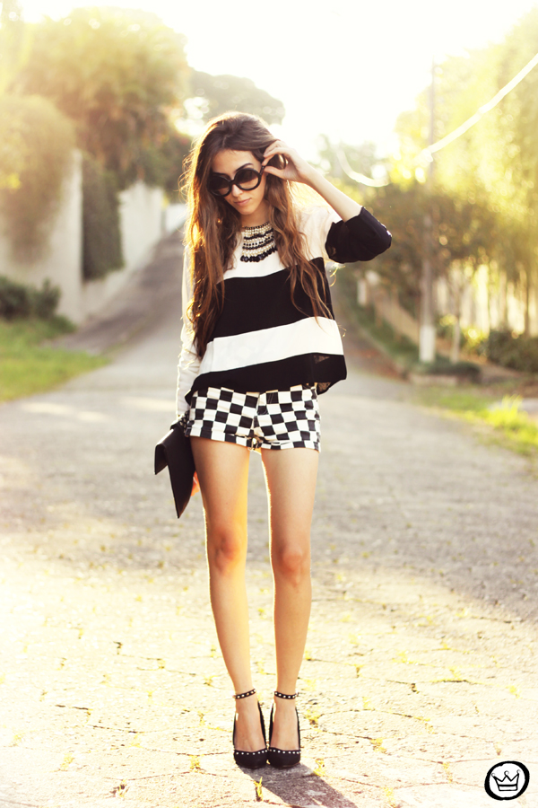 FashionCoolture - 04.05.2013 look du jour listras preto e branco SheInside Romwe Asos (1)