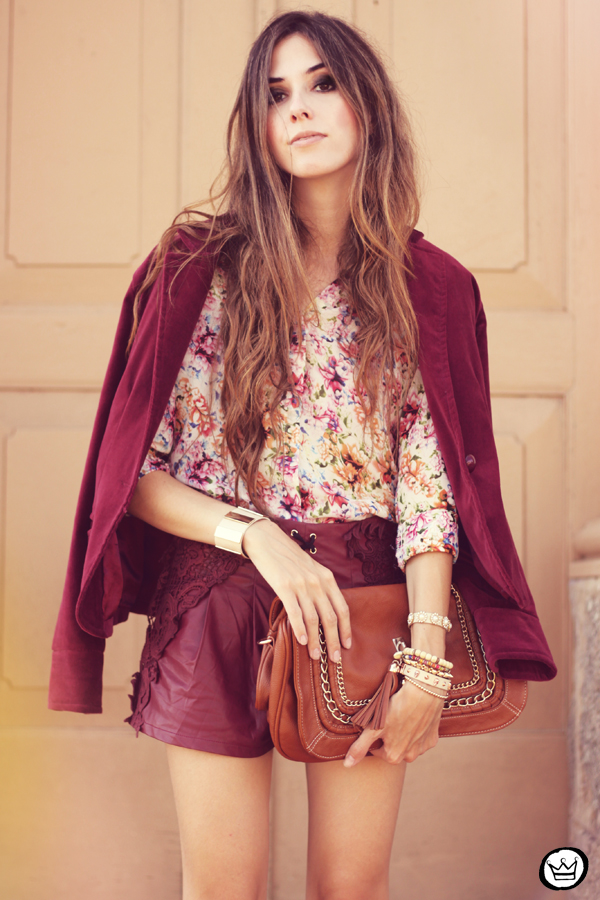 FashionCoolture - 05.05.2013 look du jour burgundy Chicwish Renner floral  (5)