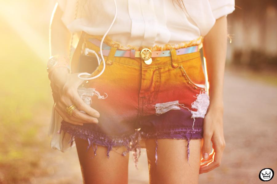 FashionCoolture - 12.05.2013 look du jour Labellamafia shorts Kafé (5)