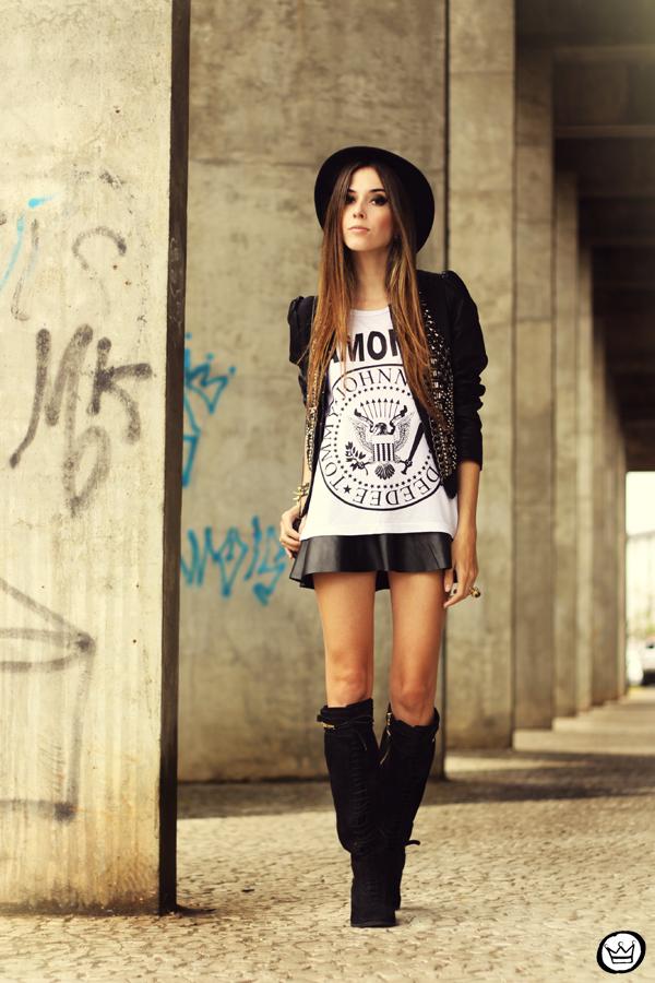 FashionCoolture - 20.05.2013 look du jour Aremo online store Santafina black (1)