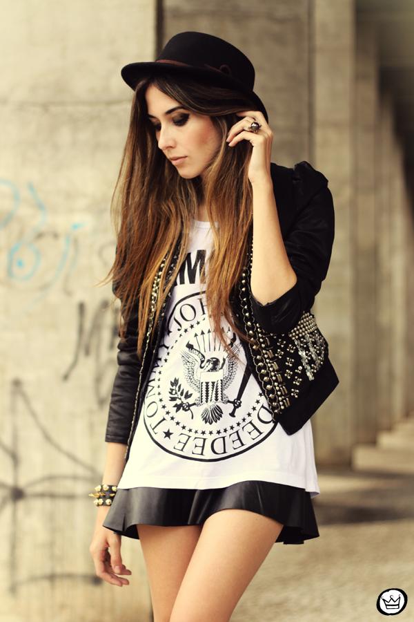 FashionCoolture - 20.05.2013 look du jour Aremo online store Santafina black (2)