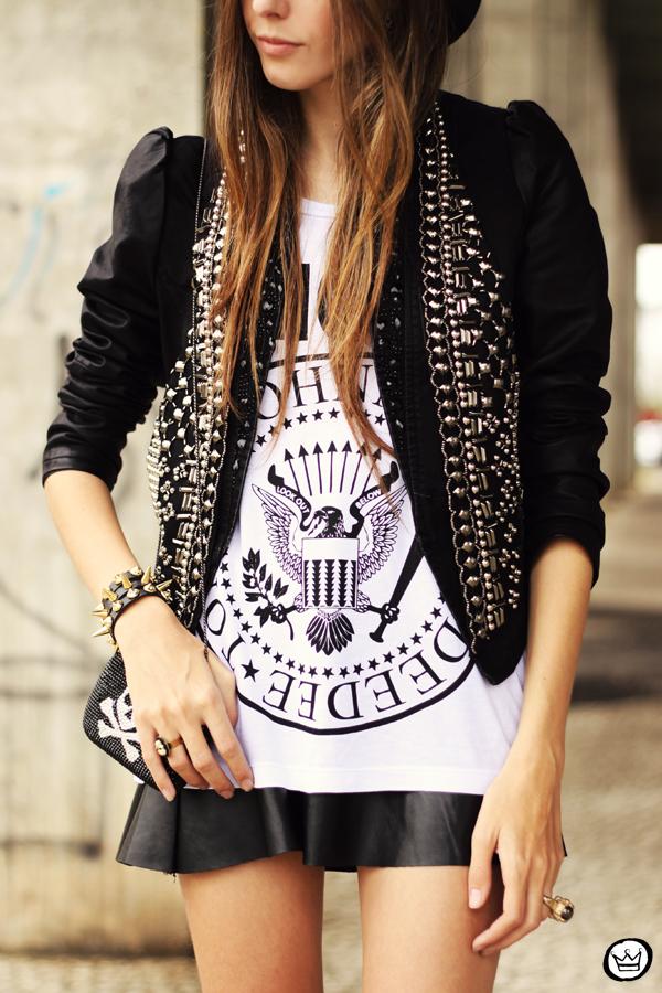 FashionCoolture - 20.05.2013 look du jour Aremo online store Santafina black (3)