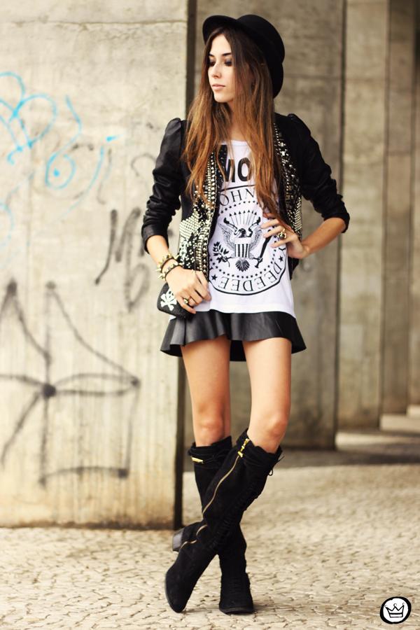 FashionCoolture - 20.05.2013 look du jour Aremo online store Santafina black (4)