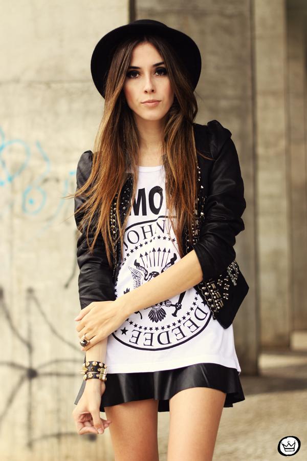 FashionCoolture - 20.05.2013 look du jour Aremo online store Santafina black (6)