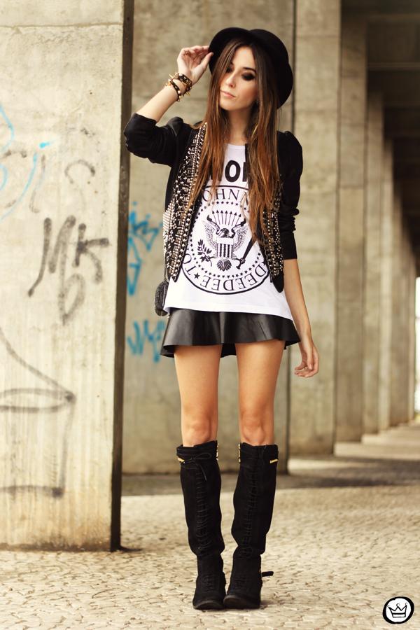 FashionCoolture - 20.05.2013 look du jour Aremo online store Santafina black (8)