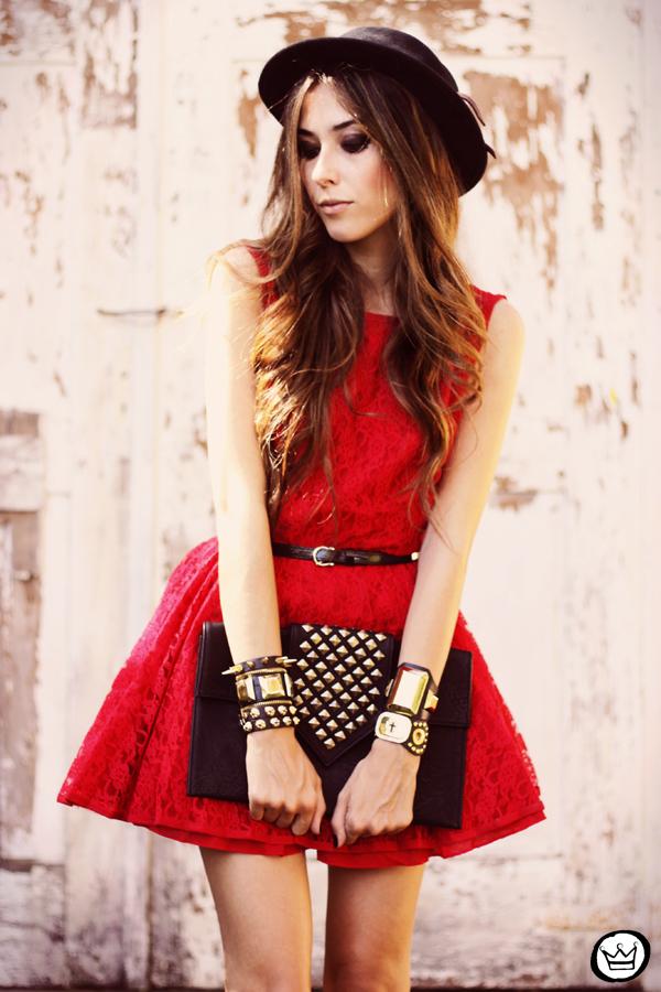FashionCoolture - Kafé bracelets acessórios golden armparty red (4)