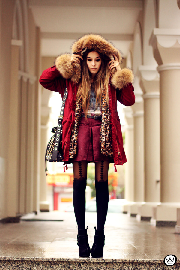 FashionCoolture - 03.06.2013 Romwe coat rainy tights (1)
