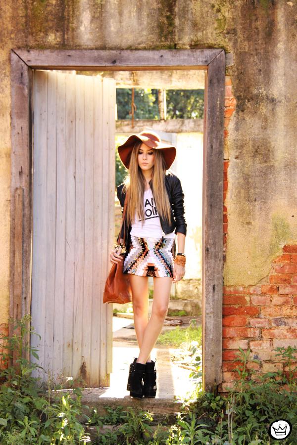 FashionCoolture - 18.07.2013 look du jour Aremo sequins skirt ethnic (7)