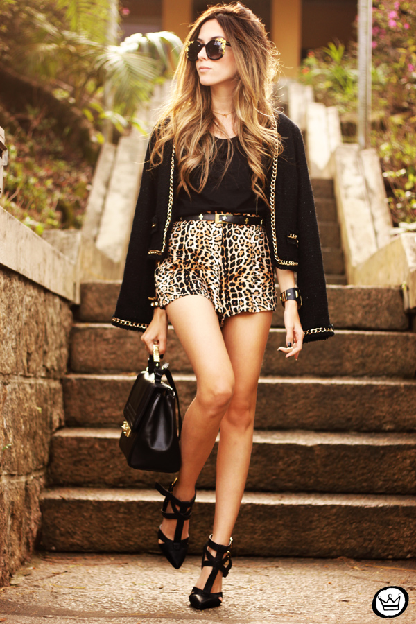 FashionCoolture - 23.08.2013 look du jour Chamelle leopard golden (1)