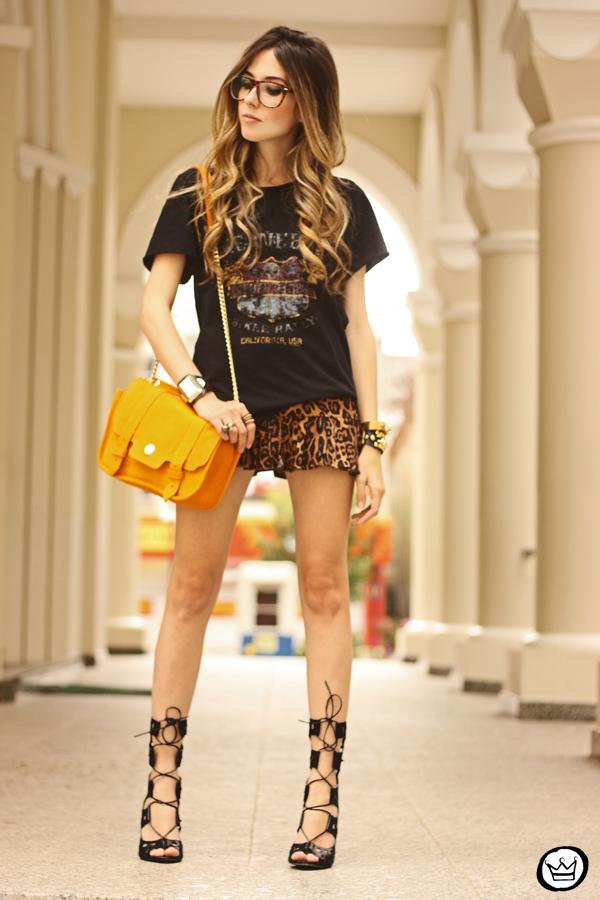 FashionCoolture - 06.09.2013 look du jour Olook leopard gladiadora (1)
