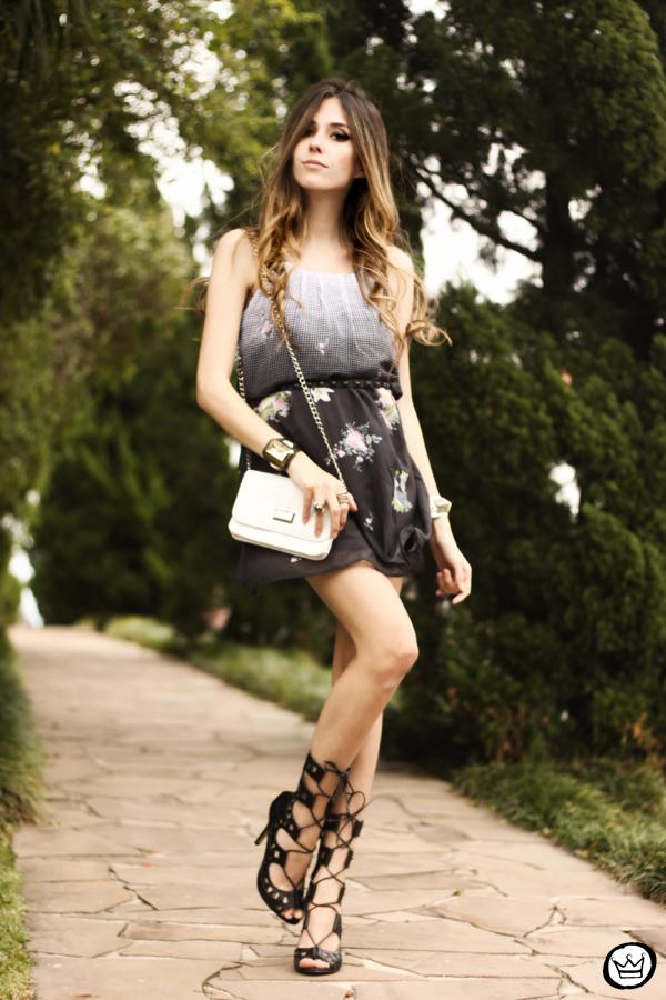 FashionCoolture - 10.09.2013 look du jour Displicent dress olook gladiadora (1)