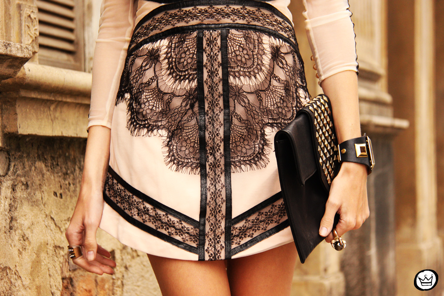 FashionCoolture - 23.09.2013 look du jour lace dress Choies (6)