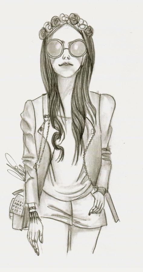 FashionCoolture drawing Neide Estanilau