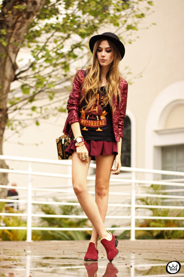 FashionCoolture - 05.10.2013 look du jour Choies sequins Chico Rei t-shirt (1)