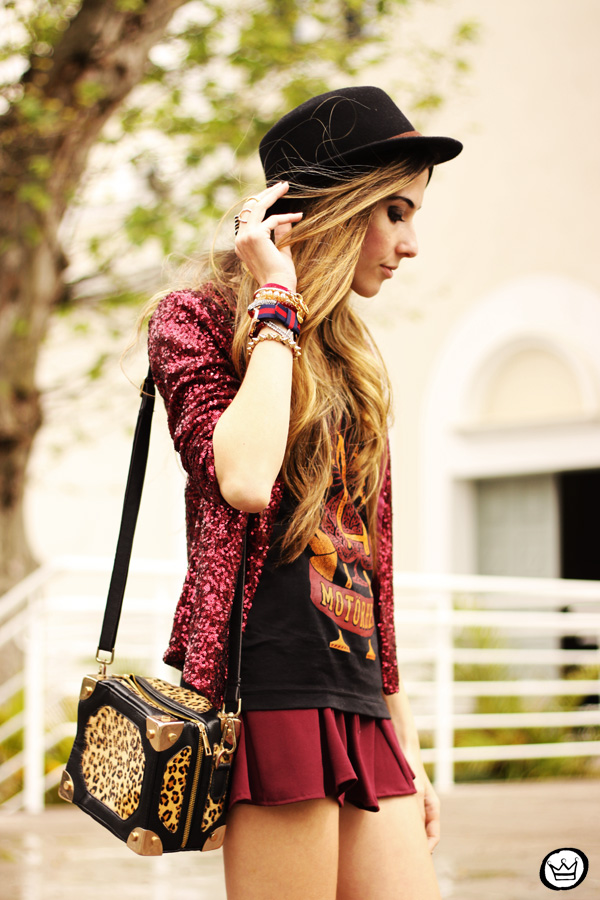 FashionCoolture - 05.10.2013 look du jour Choies sequins Chico Rei t-shirt (2)