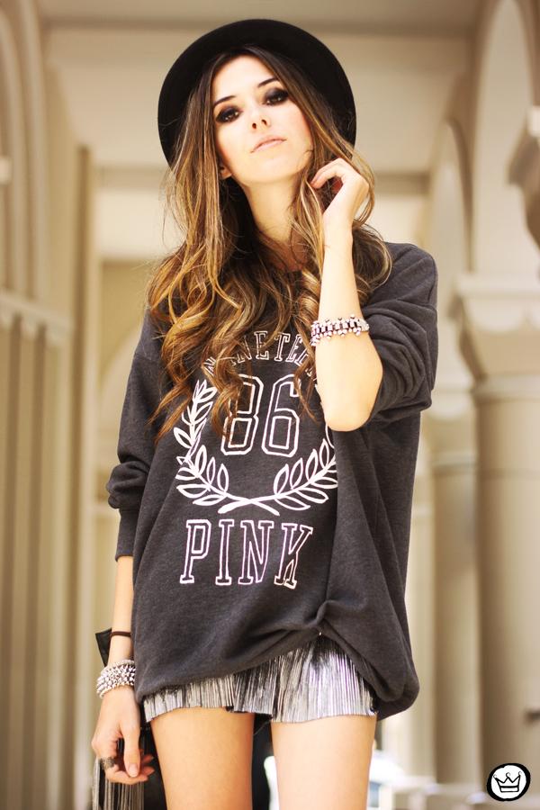 FashionCoolture - 09.10.2013 look du jour VS pink jumper Victorias Secrets (5)