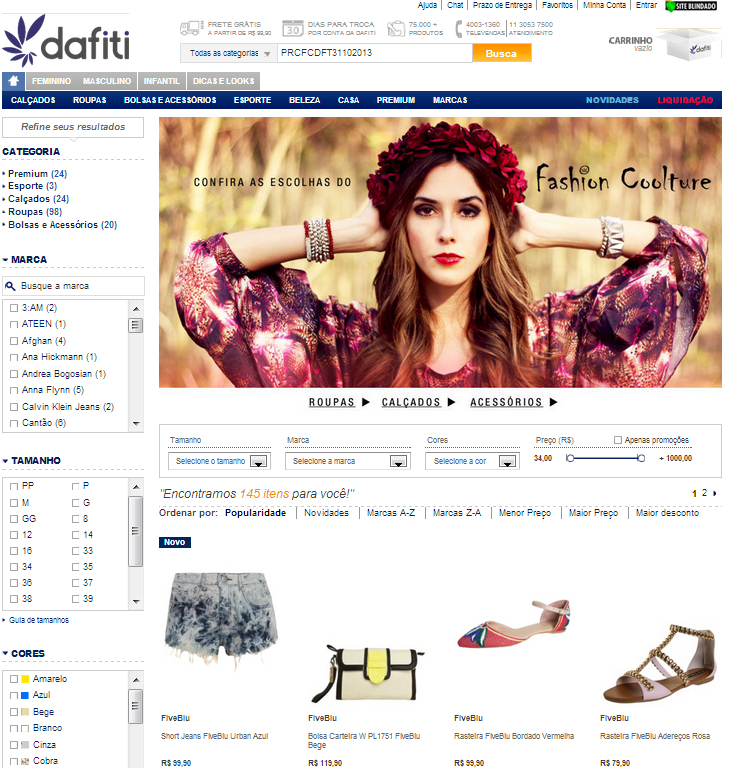 FashionCoolture Dafiti .