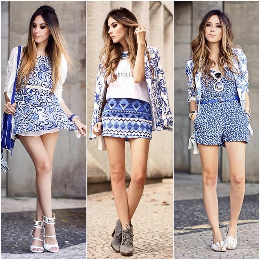 FashionCoolture print blue