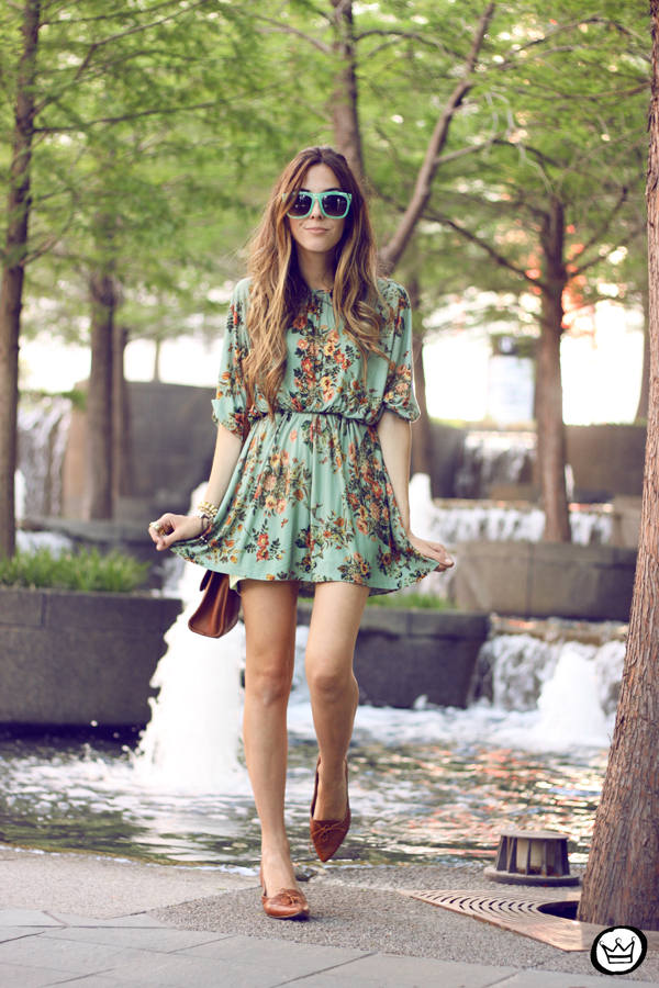 FashionCoolture - 30.04.2014 look du jour Antix floral dress (7)