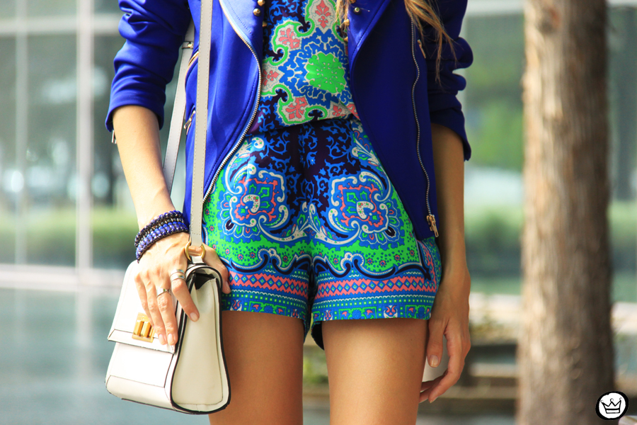 FashionCoolture - 03.05.2014 look du jour Dallas printed suit blue jacket (4)