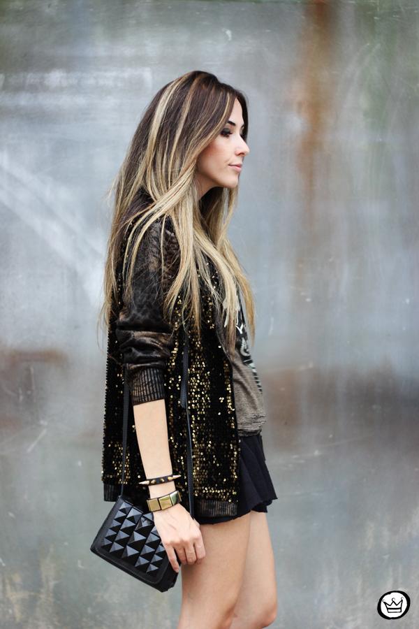 FashionCoolture - 06.05.2014 look du jour Dafiti black studded rocker (2)