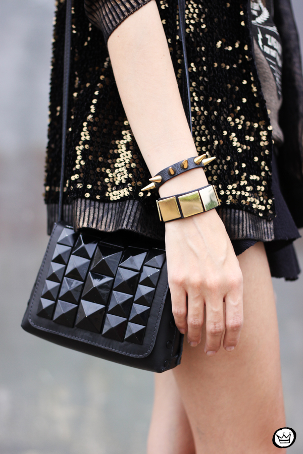 FashionCoolture - 06.05.2014 look du jour Dafiti black studded rocker (4)