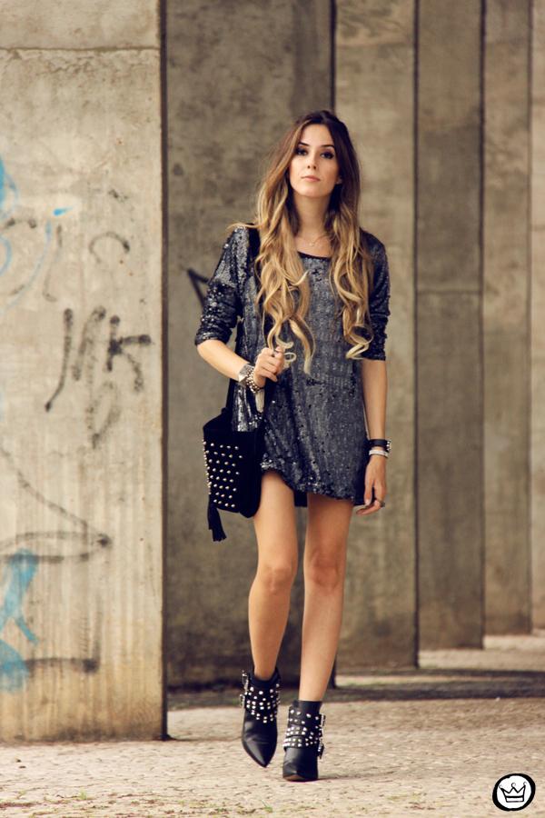 FashionCoolture - 09.05.2014 look du jour As Marias sequins studded (1)