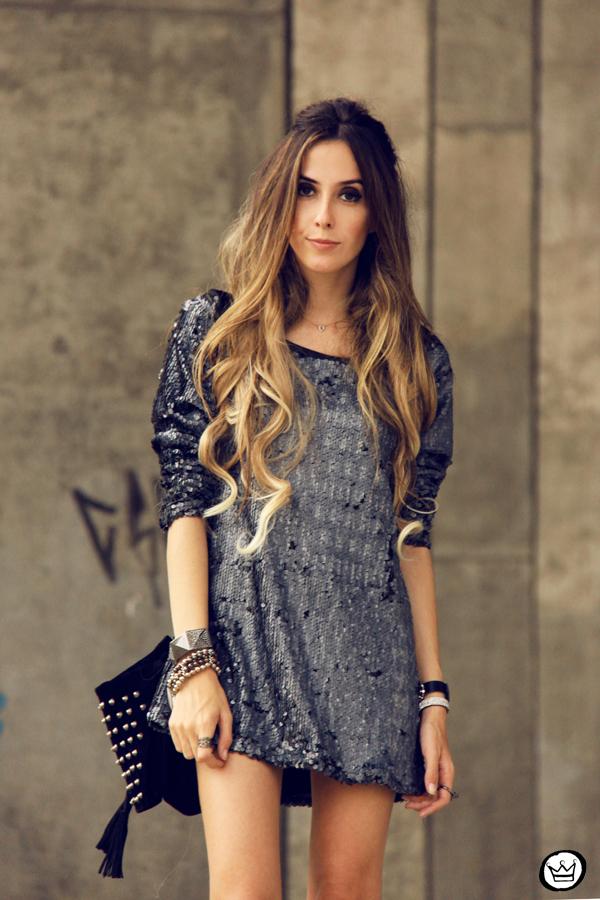 FashionCoolture - 09.05.2014 look du jour As Marias sequins studded (2)