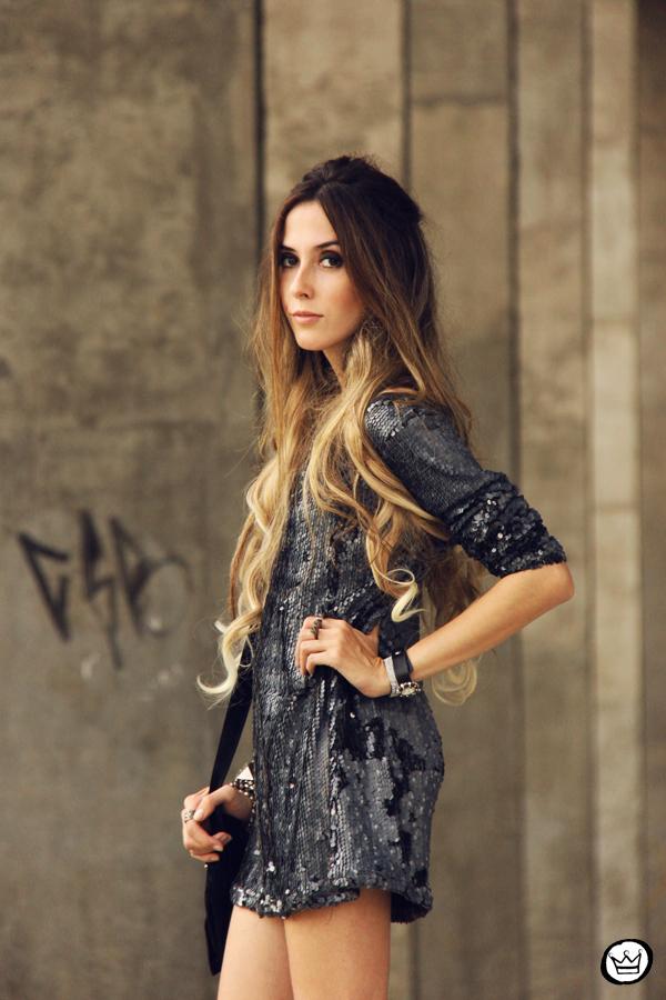 FashionCoolture - 09.05.2014 look du jour As Marias sequins studded (4)