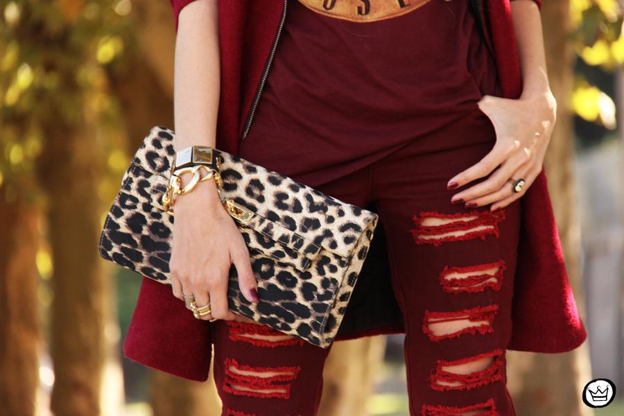 FashionCoolture - 26.05.2014 look du jour Displicent burgundy jeans rocker (6)