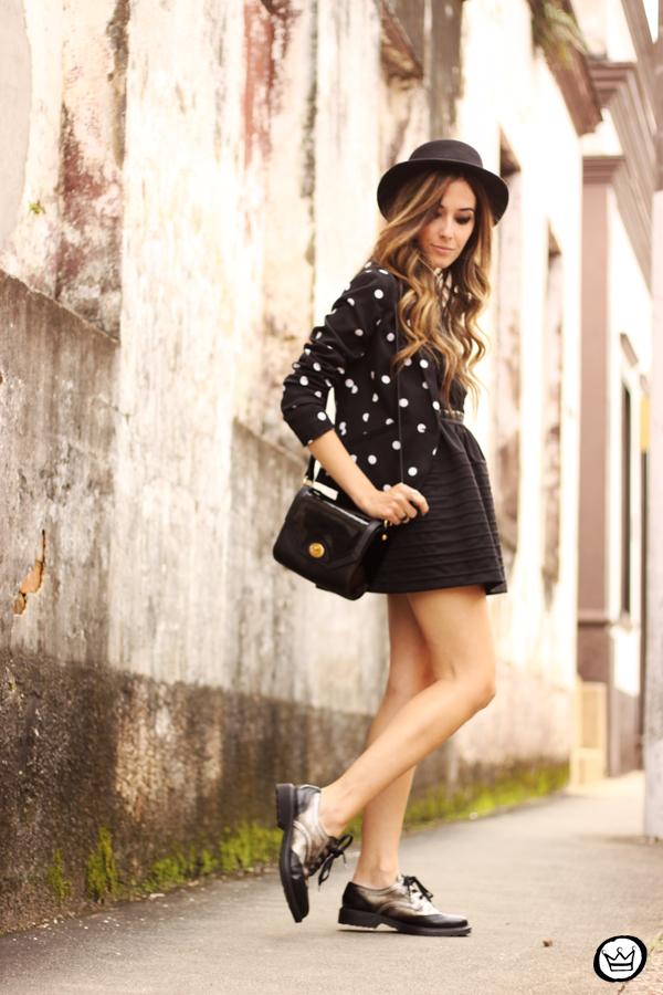 FashionCoolture - 28.05.2014 look du jour little black dress oxfords (3)