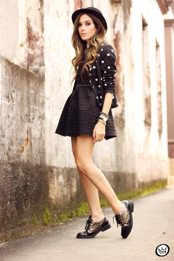 FashionCoolture - 28.05.2014 look du jour little black dress oxfords (7)