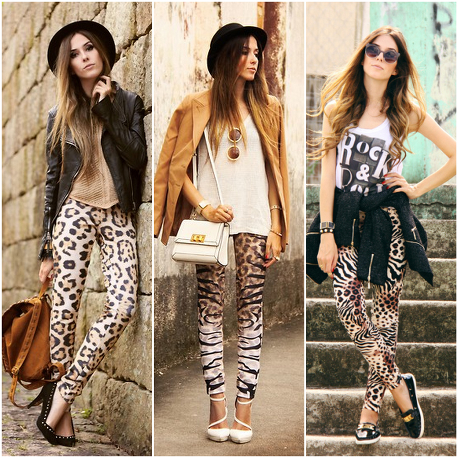 FashionCoolture animal print pants leopard outfits
