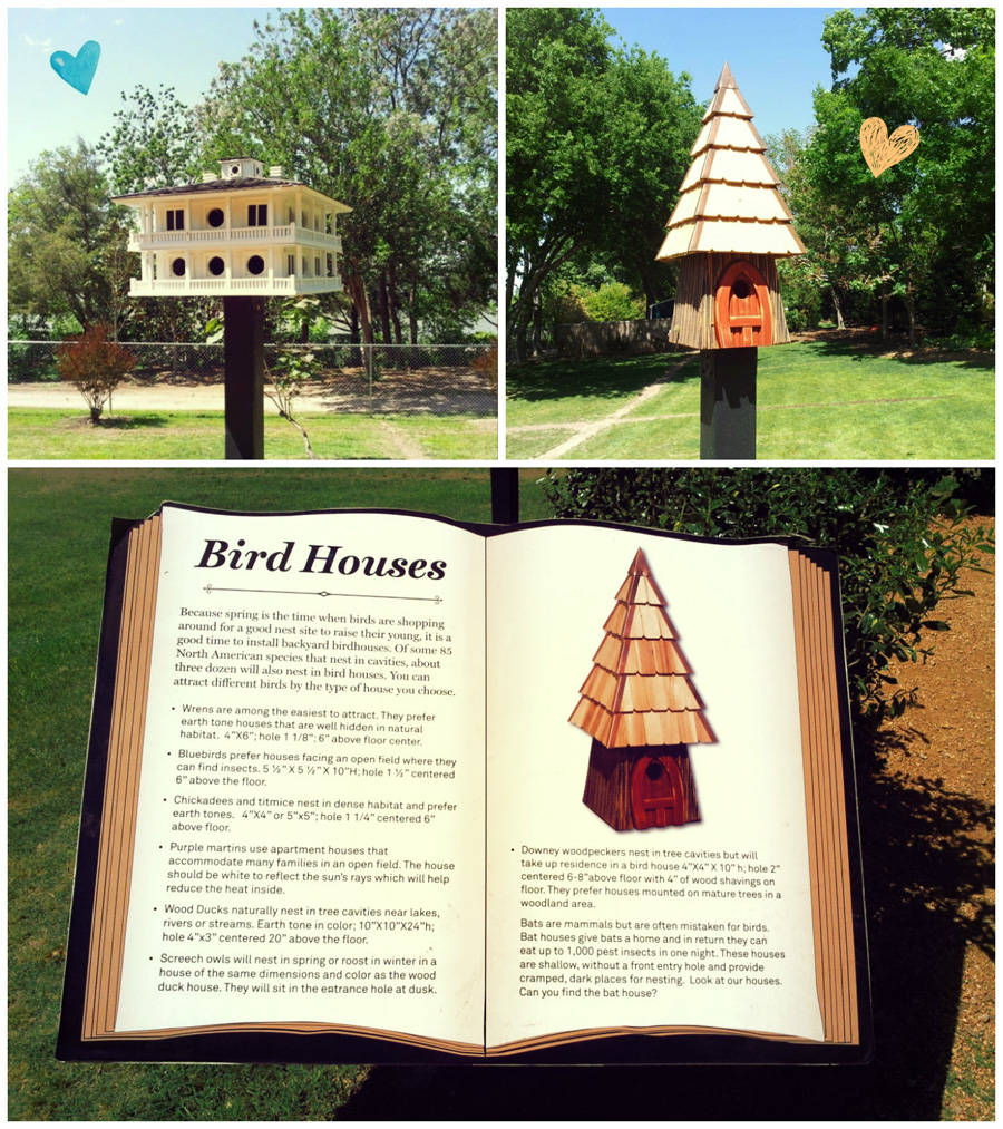 FashionCoolture Arboretum Dallas bird houses