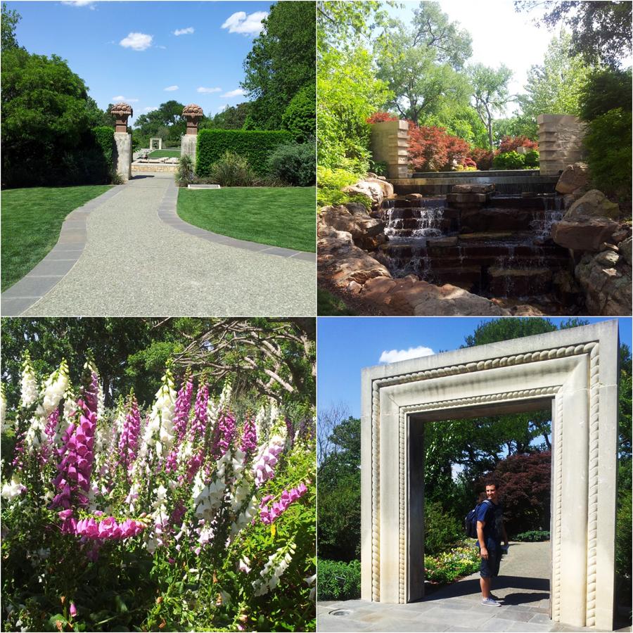 FashionCoolture Dallas Arboretum spring