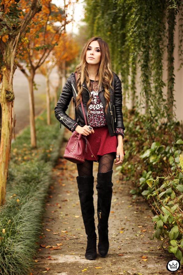 FashionCoolture - 08.06.2014 look du jour winter outfit leather jacket (1)