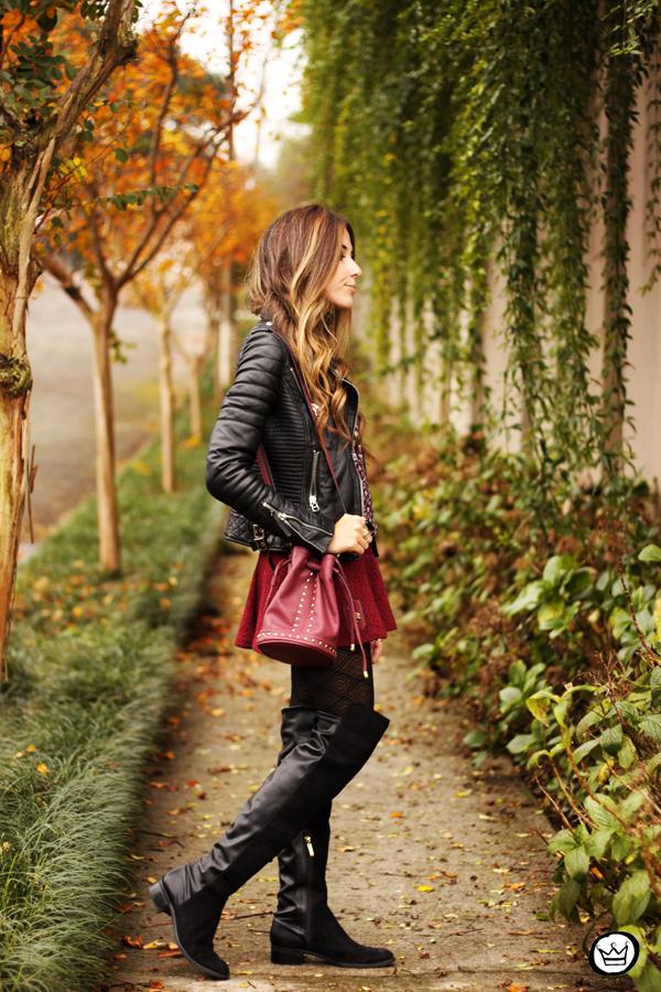 FashionCoolture - 08.06.2014 look du jour winter outfit leather jacket (3)