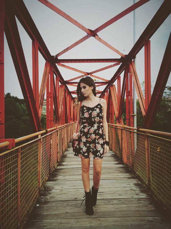 FashionCoolture Instagram floral dress