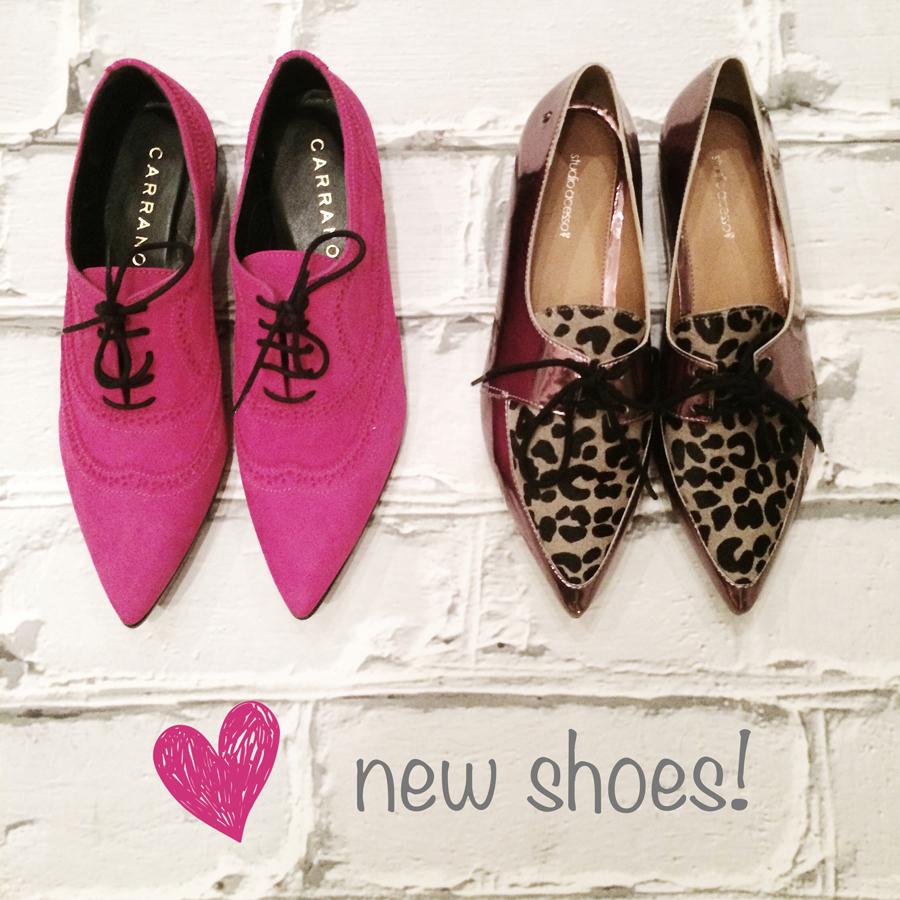 FashionCoolture Instagram pink shoes