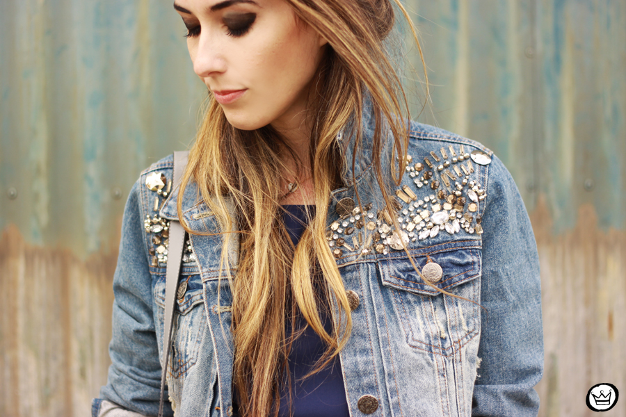 FashionCoolture - 08.07.2014 look du jour Amaro jeans denim jacket (3)