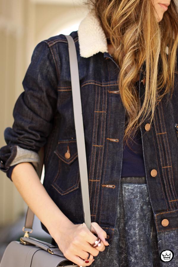 FashionCoolture - 21.07.2014 look du jour Gap blue denim (5)