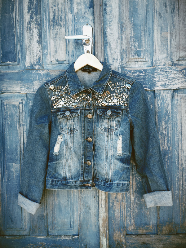 FashionCoolture Instagram denim jacket
