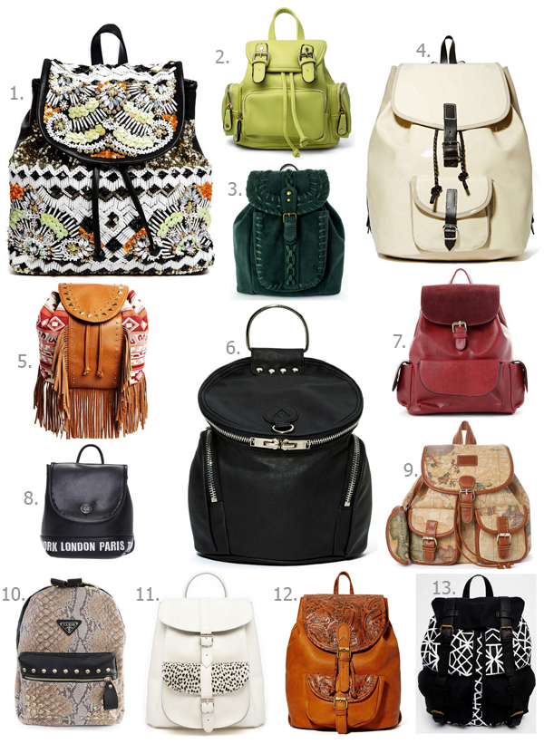 FashionCoolture Shopping Tips backpack