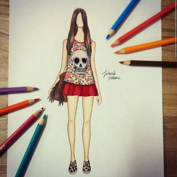 FashionCoolture - drawing -
