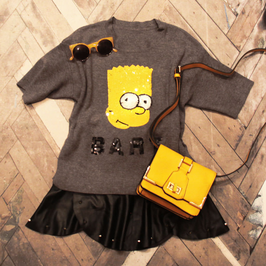 FashionCoolture - Bart sweater