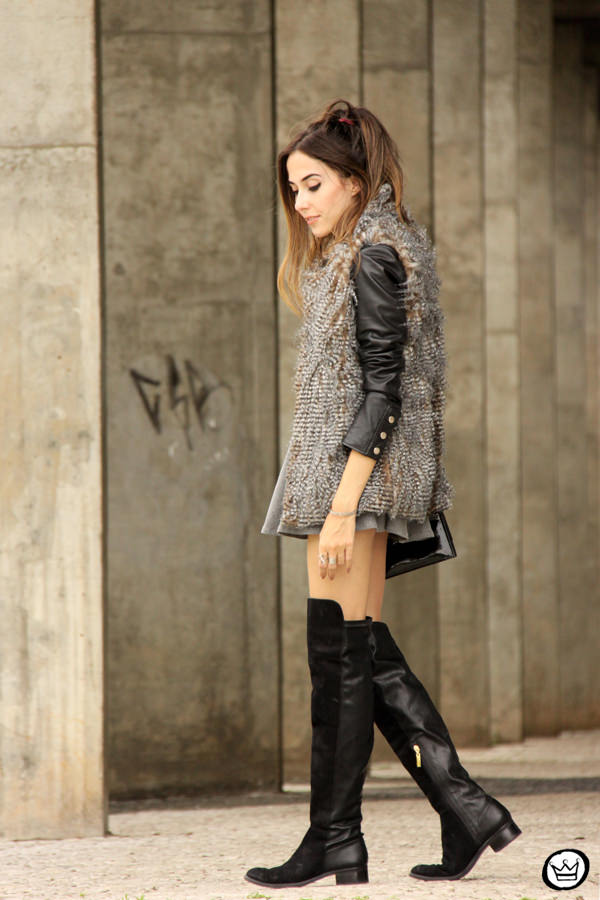 FashionCoolture - 24.02.2015 look du jour Displicent fake fur vest (4)