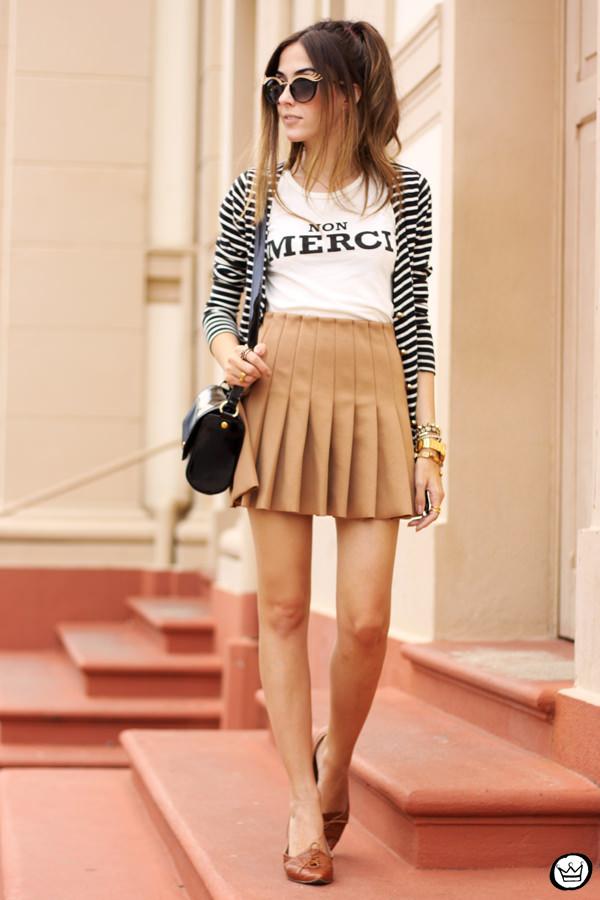 FashionCoolture - 28.02.2015 look du jour Forever21 pleated skirt ZeroUV (1)