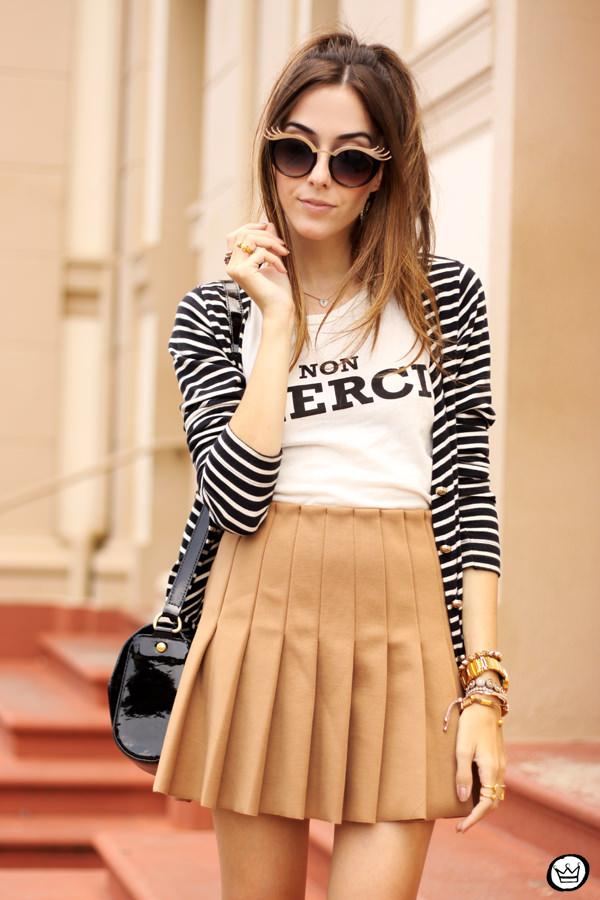 FashionCoolture - 28.02.2015 look du jour Forever21 pleated skirt ZeroUV (2)