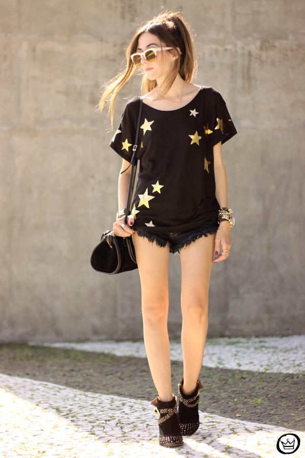 FashionCoolture - 21.03.2015 look du jour Wildfox mirrored golden sunglasses black stars (6)