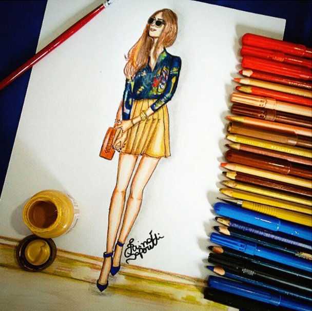 FashionCoolture - drawing